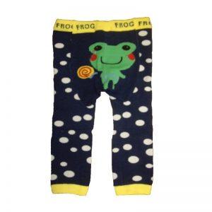 legging-bebe-grenouille-pois